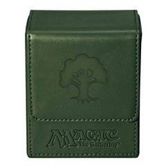Ultra Pro Flip Box Green Mana Magic the Gathering